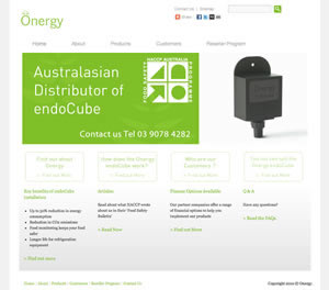 Onergy website