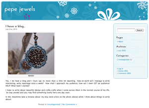 Pepe Jewels website