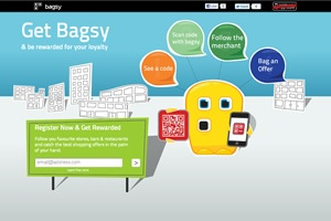Bagsy website